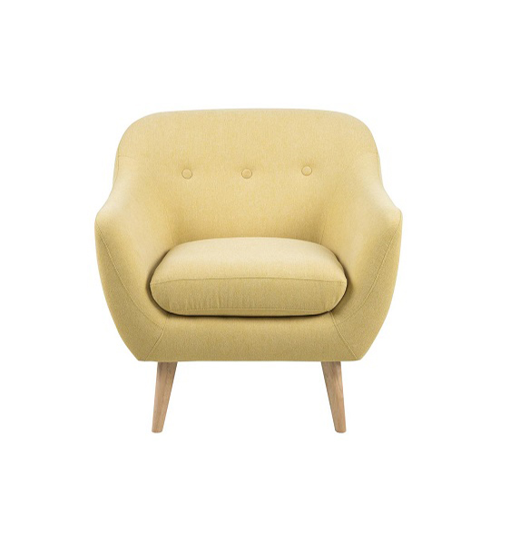 Alunda Armchair Mustard Yellow