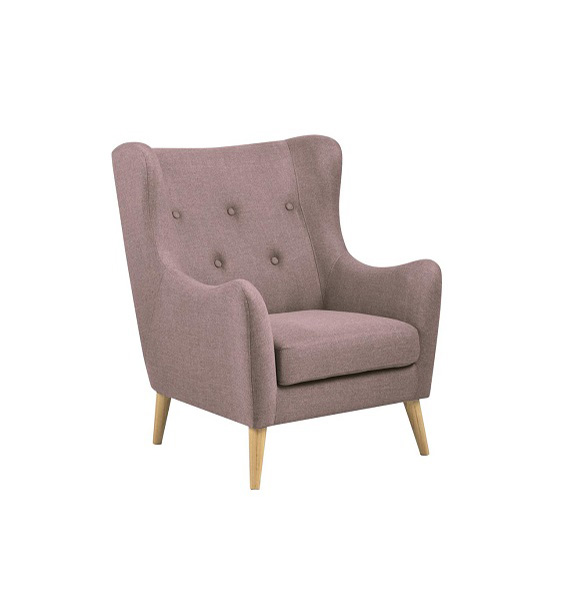 Kamma Armchair (Dusty Pink)